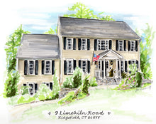 PREMIER Custom Whimsical Home & Landscape Illustration (Starting at $750+)