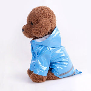 Dog Hooded Waterproof Raincoat - Pets Emporium