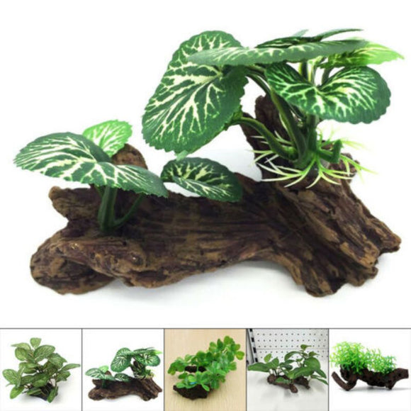 Artificial Fake Grass Turtle Fish Tank Plants Aquarium Aquatic Landscaping Decoration Ornament - Pets Emporium
