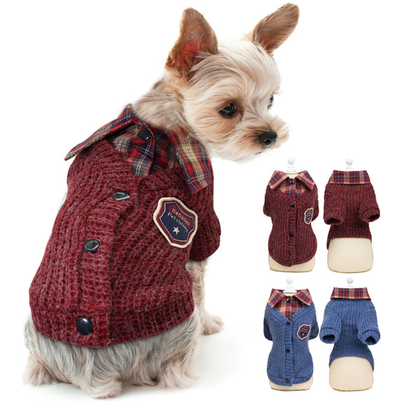 Fashion Pet Dog Clothes Sweater For Small Medium - Pets Emporium