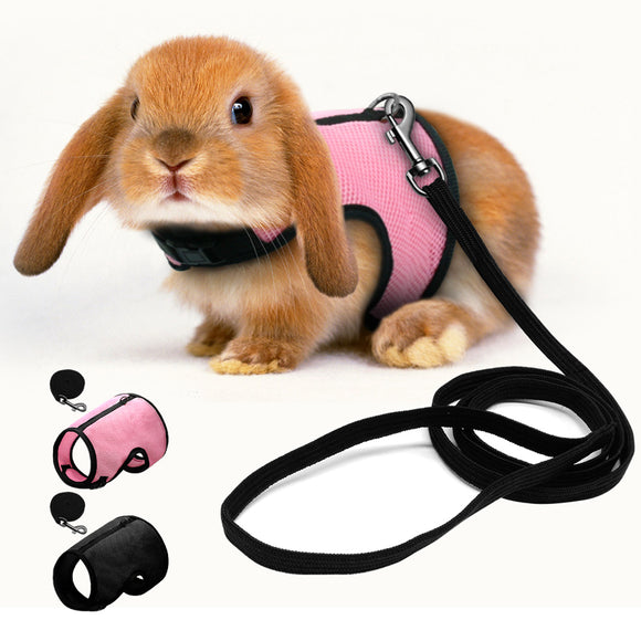 Mesh Rabbit Harness and Leash Set Breathable - Pets Emporium