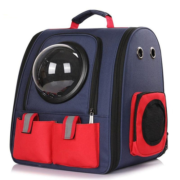 Petshy Collapsible Dog Cat Carrier Backpack Portable Travel Bag - Pets Emporium