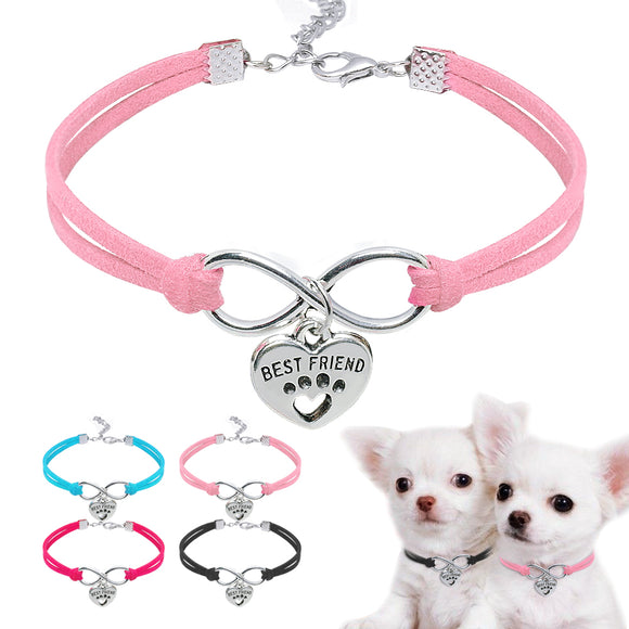 Small Dog Cat Collar Leather Dog Puppy Collars - Pets Emporium
