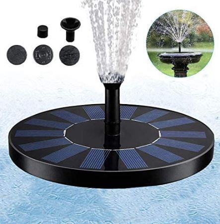 7V Solar Fountain Watering kit Power Solar Pump Pool Pond Submersible Waterfall Floating For Garden ( 2 - 3 working days delivery ) - Pets Emporium
