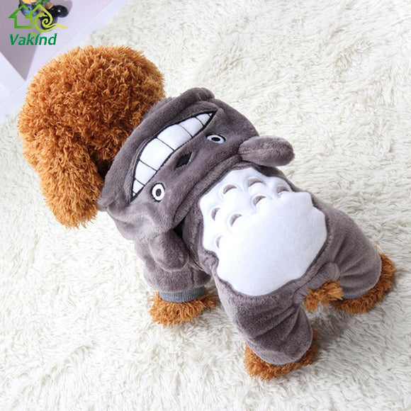 Warm Winter Velvet Dog Outfit - Pets Emporium