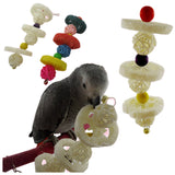 Bird Station Rack Bites Chew on Hanging Toys With Bells - Pets Emporium