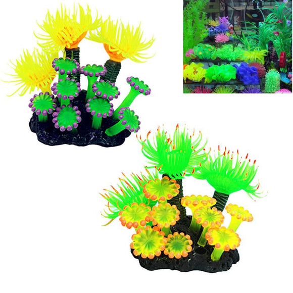 Ornament Plant For Fish Tank