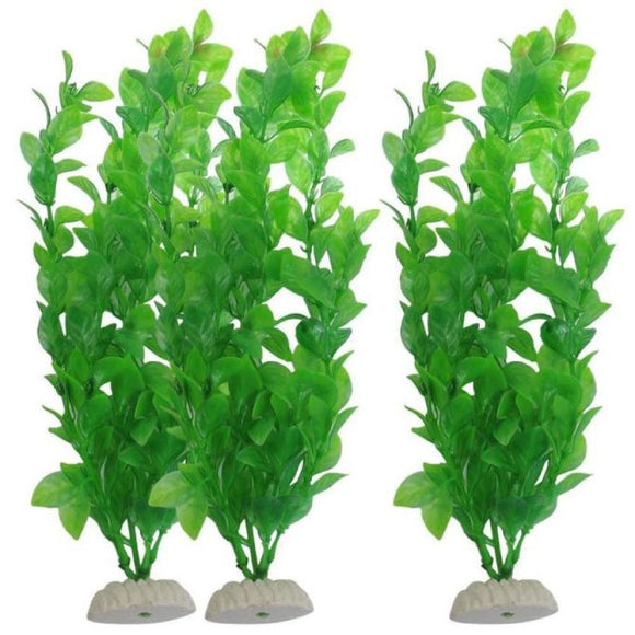 3 Piece aquarium aquarium fish tank plant 10.6-inch ( 3 - 5 working days delivery ) - Pets Emporium