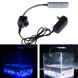 9CM 12V 24 LED Aquarium Light