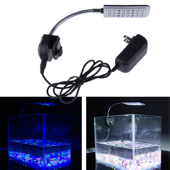 9CM 12V 24 LED Aquarium Light - Pets Emporium