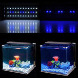 6W Aquarium Fish Tank Smd Led Light Lamp 2 Mode 30 White + 6 Blue Marine Aquarium Led Lighting