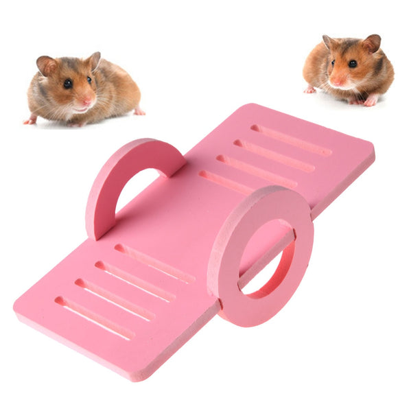 Wooden Pet Rabbit Hamster Rat Mouse Seesaw Toy - Pets Emporium