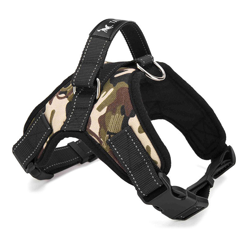 Heavy Duty Large Padded Harness  Chest Strap With Handle