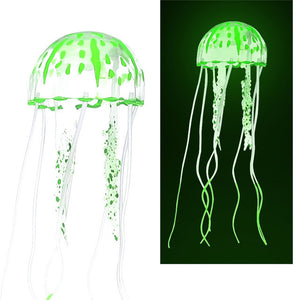 Reef Ornament Simulation Glow Fluorescent Jellyfish