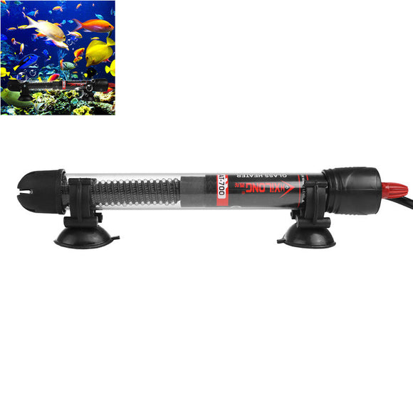 25W 100W Submersible Aquariums Heater Glass Fish Tank Heating Rod AC 220V - Pets Emporium