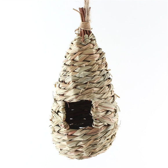 Natural Grass Woven Hanging Nest - Pets Emporium