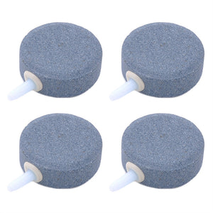 4pcs 4cm Airstone  Air Bubble Stone Oxygen Stone for Fish Tank Round Oxygen Diffuser