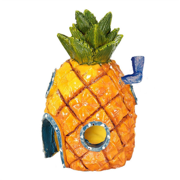 Sponge Bob Pineapple Ornament For Aquarium Fish Tank - Pets Emporium