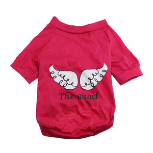 Spring Summer The Angel Vest  T-Shirt for Dog or Cats - Pets Emporium