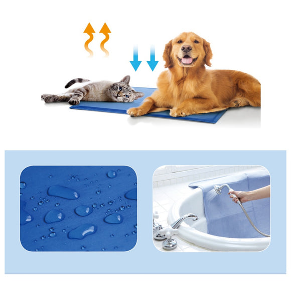 Summer Cool Ice Mat For Cats & Dogs
