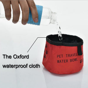Port-A-Bowl Collapsible Travel Dog Food and Water Bowl - Pets Emporium