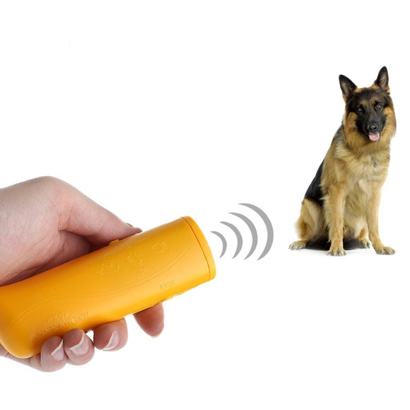 LED Ultrasonic Anti Bark Dog Training Device - Pets Emporium