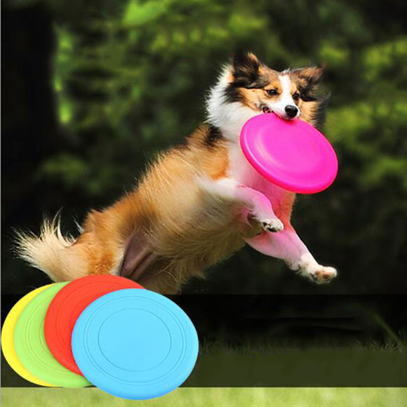 Soft Foldable Dogs Frisbee Toys - Pets Emporium