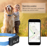 Mini Pet GPS Tracker IP66 Waterproof Smart Location Free APP with Collar for Dogs and Cats - Pets Emporium