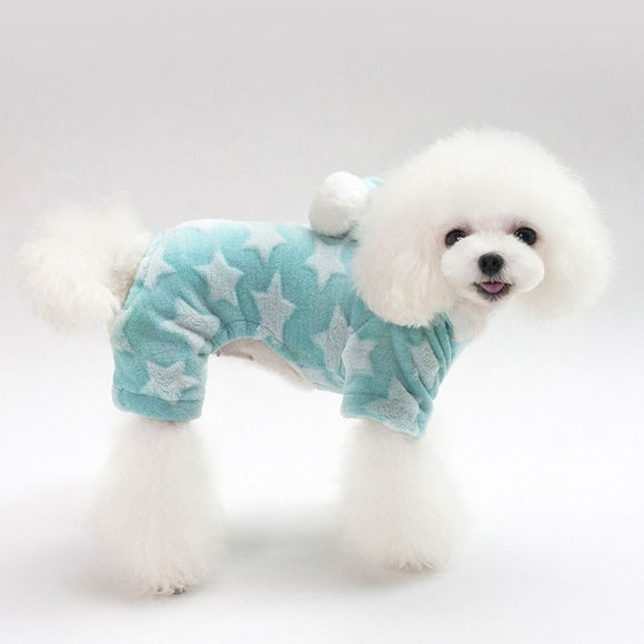 Warm Dog Soft Star Winter Sweater For Small Dogs - Pets Emporium
