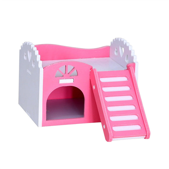 Small Pet Wooden House - Pets Emporium
