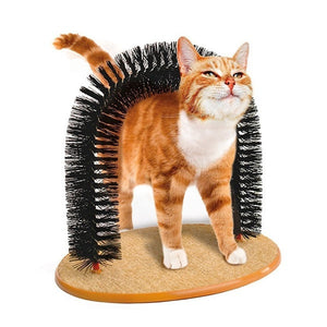Cat Massage Bristle Arch