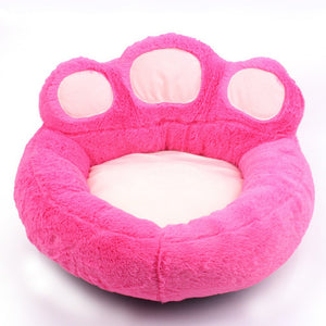 Comfortable and Soft Claw Shape Dog and Cat Sleeping Bed f - Pets Emporium