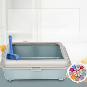 Anti-Splash Reusable Cat's Litter Box - Pets Emporium