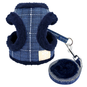 Soft Dog Harness Leash Set