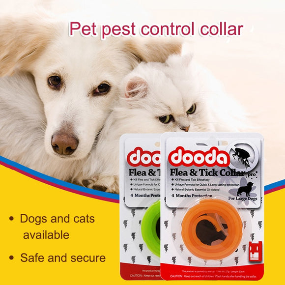 Dog/Cat Insecticidal Anti Flea Anti-insect Mosquitoes Adjustable Collar - Pets Emporium