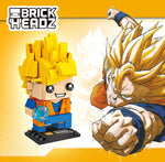 Dragon Ball Z Super Saiyan Son Goku Action Toy Dragonball Z Brick Building Blocks 200pcs