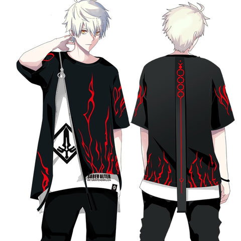 Fate/stay night Saber Alter Long Sleeve Hoodie & Short Sleeve Tops