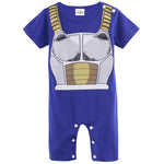 Dragon Ball Z Vegeta Costume romper Playsuits