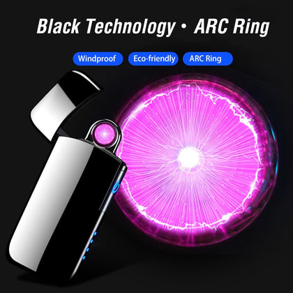 Spinning Plasma Arc Lighter