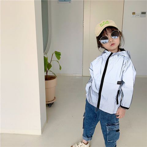 Reflective Jacket For Children Windproof