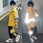 Reflective Children windbreaker set