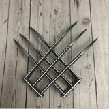 1/2pcs X-Men Wolverines Blade Claw 1:1 Cosplay Prop