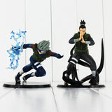 Naruto Nara Shikamaru Shippuden Hatake Kakashi PVC Action Figure Doll Collection