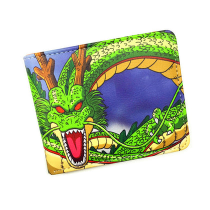 Dragon Ball Z Wallet Anime Fashion Short Wallets