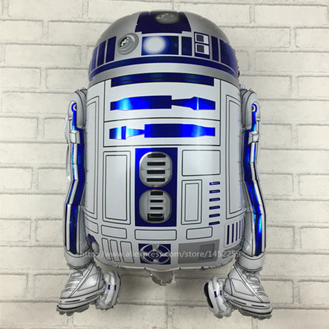 Star Wars Globos R2-D2 Foil Balloons Party Supplies Helium Balloons Kids Toys Gifts  R-020