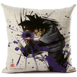 Dragon Ball GoKu Pillow Cover Linen Covers 45x45cm
