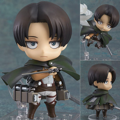 2Styles Nendoroid Q Version Attack on Titan Legion Levi Rivaille #390 Eren Jaeger # 375