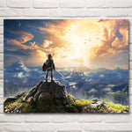 The Legend Of Zelda Twilight Princess Game Art Silk Poster Home Decor Printing 12x16 18x24 24x32 30x40 Inches Free Shipping
