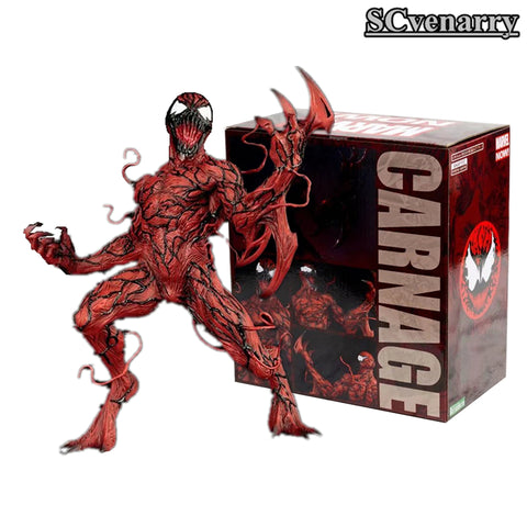 MARVEL CARNAGE  Super Hero Spiderman Spider Man 1/10 PVC Action Figure Collectible Model Toys  16cm