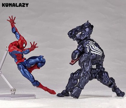 KUMALAZY Spider Man VS Venom Figures
